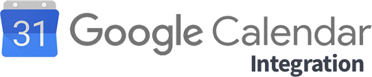 Integrates with Google Calendar